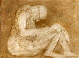 Untitled - Krishen  Khanna - Auction 2002 (May)
