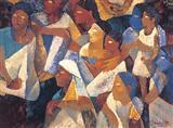 Untitled - Somnath  Hore - Auction 2002 (May)