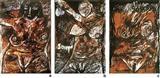 Dark Goddess - 1, 2 & 3 - F N Souza - Auction 2002 (May)