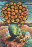 Still Life in a Landscape - K H Ara - Auction 2003 (December)