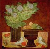 Still Life with Birds - Badri  Narayan - Auction 2003 (December)