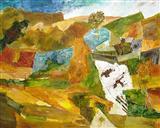 Untitled - Ram  Kumar - Auction 2003 (December)