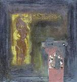 The Sign and the Alter - Jagdish  Swaminathan - Auction 2003 (May)