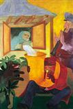Untitled - Krishen  Khanna - Auction 2003 (May)