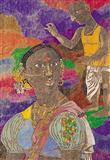 Untitled - K Laxma  Goud - Auction 2003 (May)