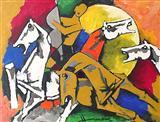 Untitled - M F Husain - Auction 2003 (May)