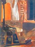 Roadmaker- Orange Light - Nataraj  Sharma - Auction 2003 (May)
