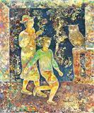 Spring - Sakti  Burman - Auction 2003 (May)