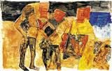 Untitled - Ram  Kumar - Auction 2003 (May)