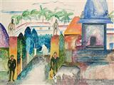 Untitled - Bhupen  Khakhar - Auction 2004 (December)
