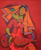 Untitled - M F Husain - Auction 2004 (December)