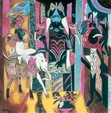 Mask, Icon, Mount, Mascot  - K G Subramanyan - Auction 2004 (December)