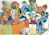 Untitled - K Laxma  Goud - Auction 2004 (December)
