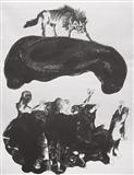 Untitled II - K Laxma  Goud - Auction 2004 (December)