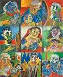 Day in Life of a Family - Paritosh  Sen - Auction 2004 (December)