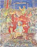 A Certain Moment in Time - Sakti  Burman - Auction 2004 (December)