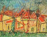 Landscape - F N Souza - Auction 2004 (December)