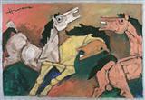 Untitled - M F Husain - Auction 2004 (May)