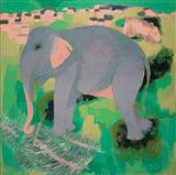 Untitled - N S Bendre - Auction 2004 (May)
