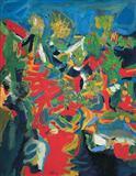 Untitled - S H Raza - Auction 2004 (May)