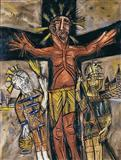 Crucifixion - F N Souza - Auction December 2005