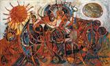 Many Morns - Avinash  Chandra - Auction December 2005