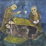 Meditation on Two Reclining Figures - Badri  Narayan - Auction December 2005