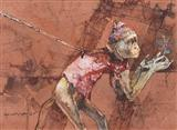 Untitled - Shyamal Dutta Ray - Auction December 2005