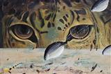 The Fish looks like Tiger Eyes - Jagannath  Panda - Auction December 2005