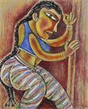Bharat Natayam - 1 - Paritosh  Sen - Auction December 2005