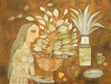 The Sprit of the Still Life - Badri  Narayan - Auction May 2005