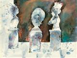 Untitled - Sakti  Burman - Auction May 2005