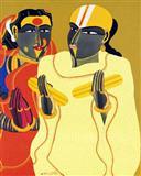 Telangana Couple - I - Thota  Vaikuntam - Auction May 2005