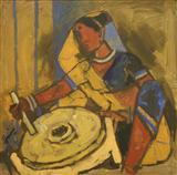 Untitled - M F Husain - Spring Auction 2005