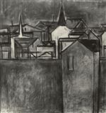 Untitled - S H Raza - Spring Auction 2005