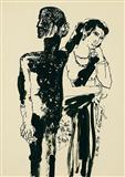 Untitled - K Laxma  Goud - Auction Dec 06