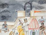 Temple - Bhupen  Khakhar - Auction Dec 06