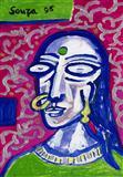 Indian Woman - F N Souza - Auction Dec 06