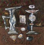 Still Life with Fruit - F N Souza - Auction Dec 06