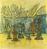 Still Life - F N Souza - Auction Dec 06