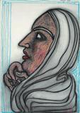 Face II  - Jogen  Chowdhury - Auction Dec 06