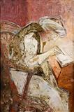 The Scribe (Imaginary Portrait of My Grandfather - Lala Kidarnath Khanna) - Krishen  Khanna - Auction Dec 06