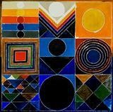 Prakriti Time and Space - S H Raza - Auction Dec 06