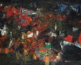 Landscape 6  - S H Raza - Auction Dec 06