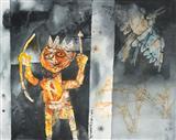 Untitled - Shyamal Dutta Ray - Auction May 2006