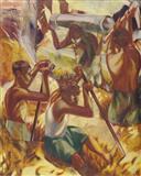 Pipe Layers - Nataraj  Sharma - Spring Auction 2006