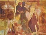 Untitled - Arunanshu  Chowdhury - Spring Auction 2007