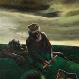 King with Flute - Bikash  Bhattacharjee - Summer Auction 2007