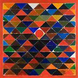 Triangles - S H Raza - Summer Auction 2007