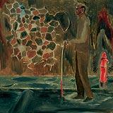 Walking Man - Atul  Dodiya - Autumn Auction 2008
